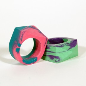 Hue Are You : Crayon Rings by Tim Liles