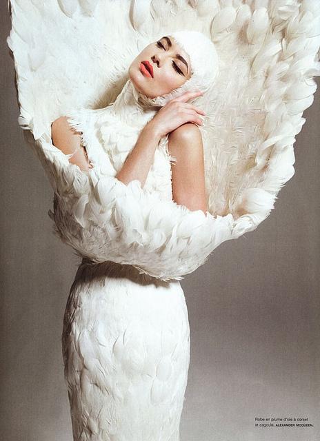"""Chrysalide"" Numero #108, Model: Shalom Harlow, Photographers: Sofia Sanchez and Mauro Mongiello"