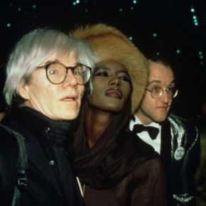 Grace and Andy Warhol