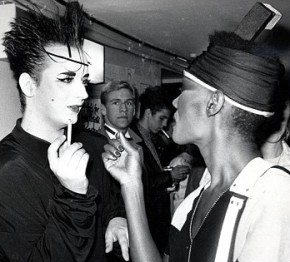 Grace and Boy George