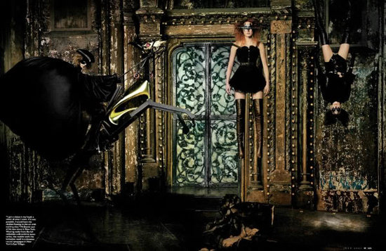 """McQueen's Kingdom"" W Magazine July 2002, Photographer: Steven Klein"