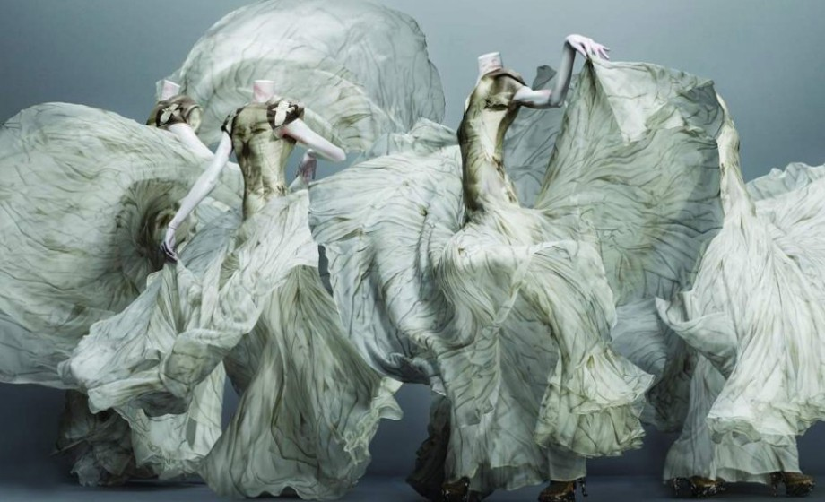 """Savage Beauty"" McQueen Collection Fall/Winter 10-11, Photographer: Solve Sundsbo"
