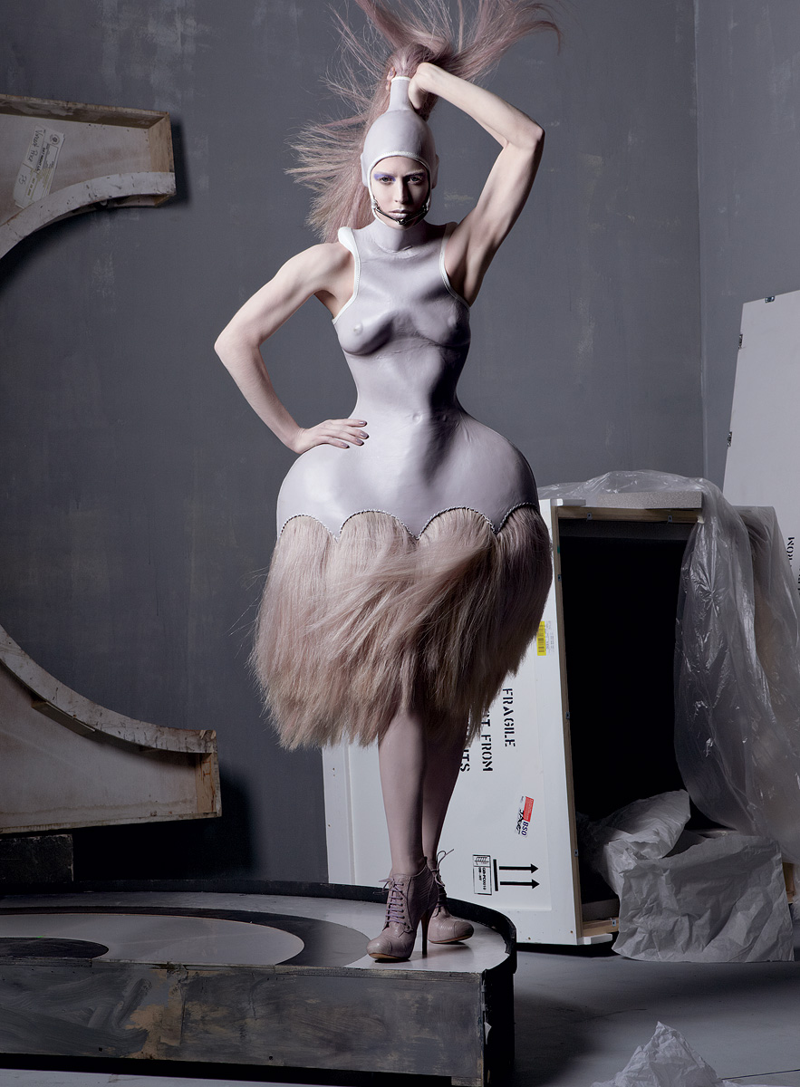 """Alexander McQueen Tribute"" Vogue US May 2011, Photographer: Steven Meisel"