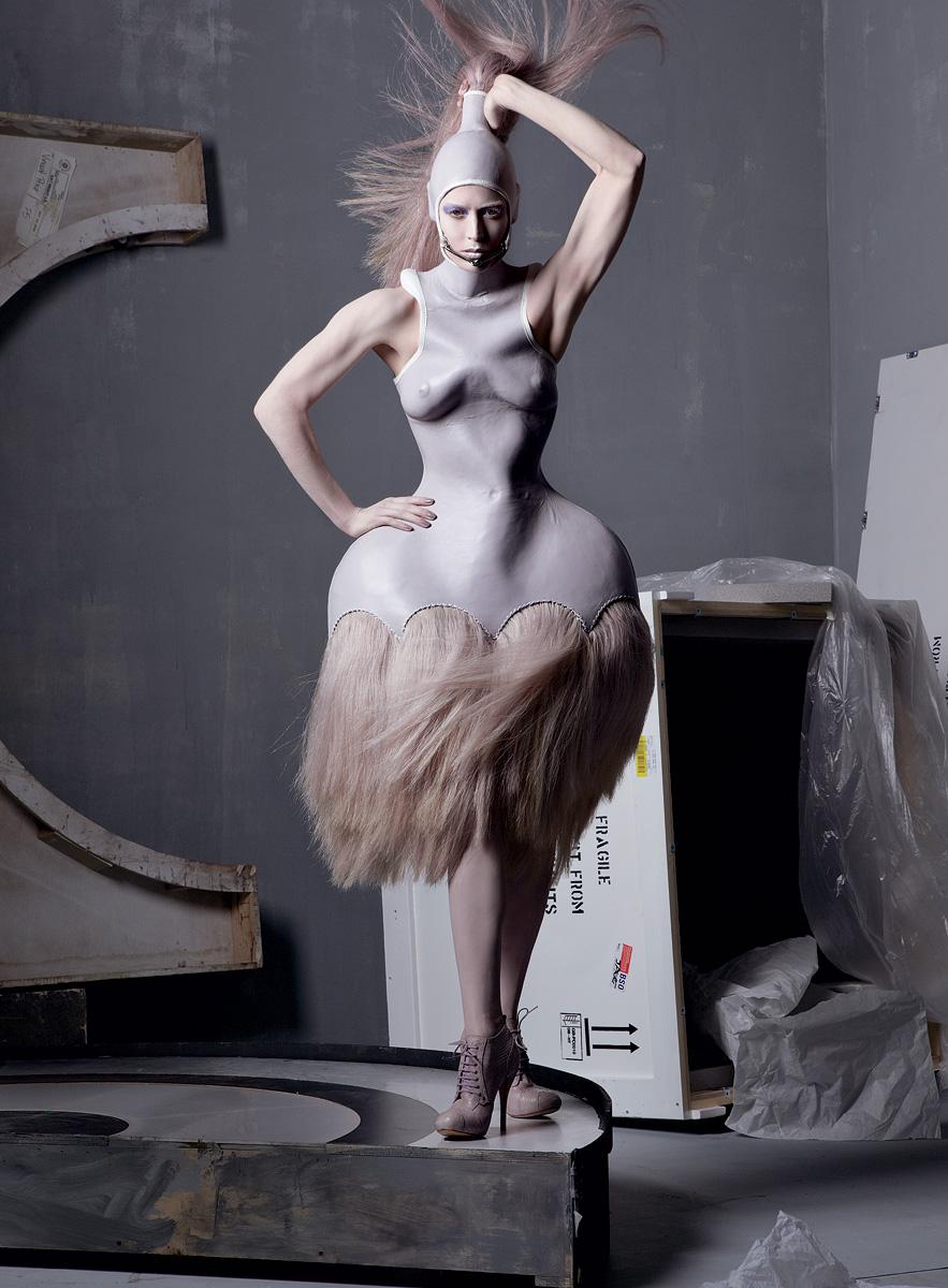 """Alexander McQueen Tribute"" Vogue US May 2011, Photographer: Steven Meisel"